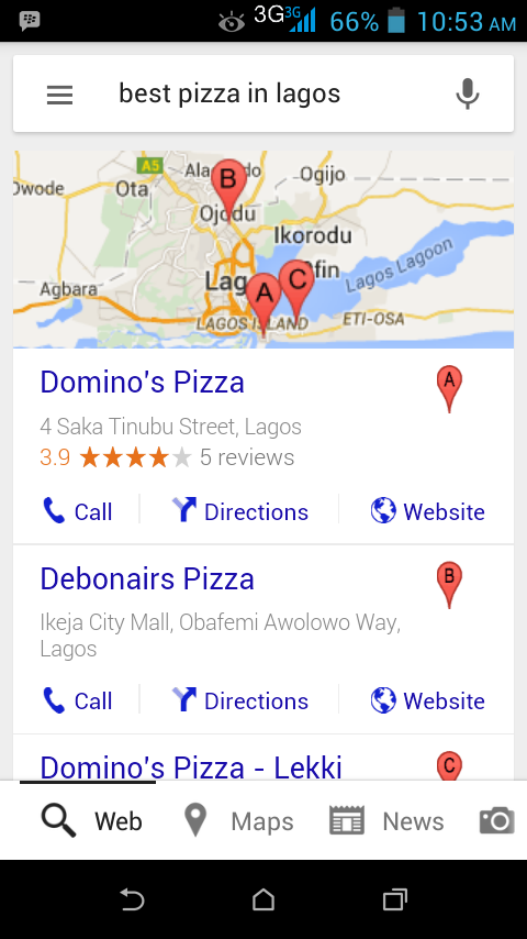 Dominos, Debonairs, Internet Marketing For Businesses
