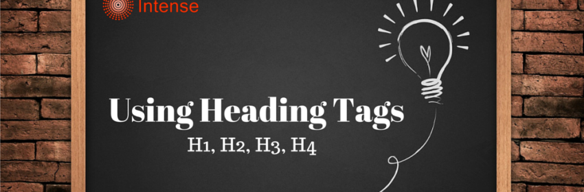 Using Heading Tags for SEO