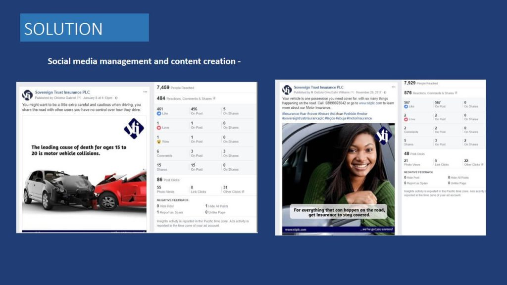 Sovereign Trust Insurance social media and content management (2)