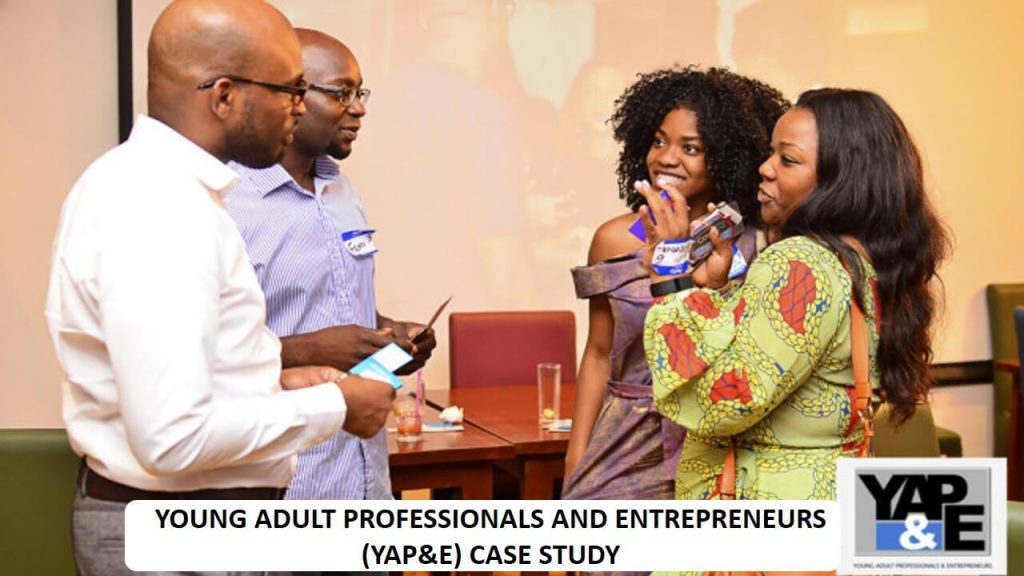 Young Adult Professionals and Entrepreneurs (YAP&E)