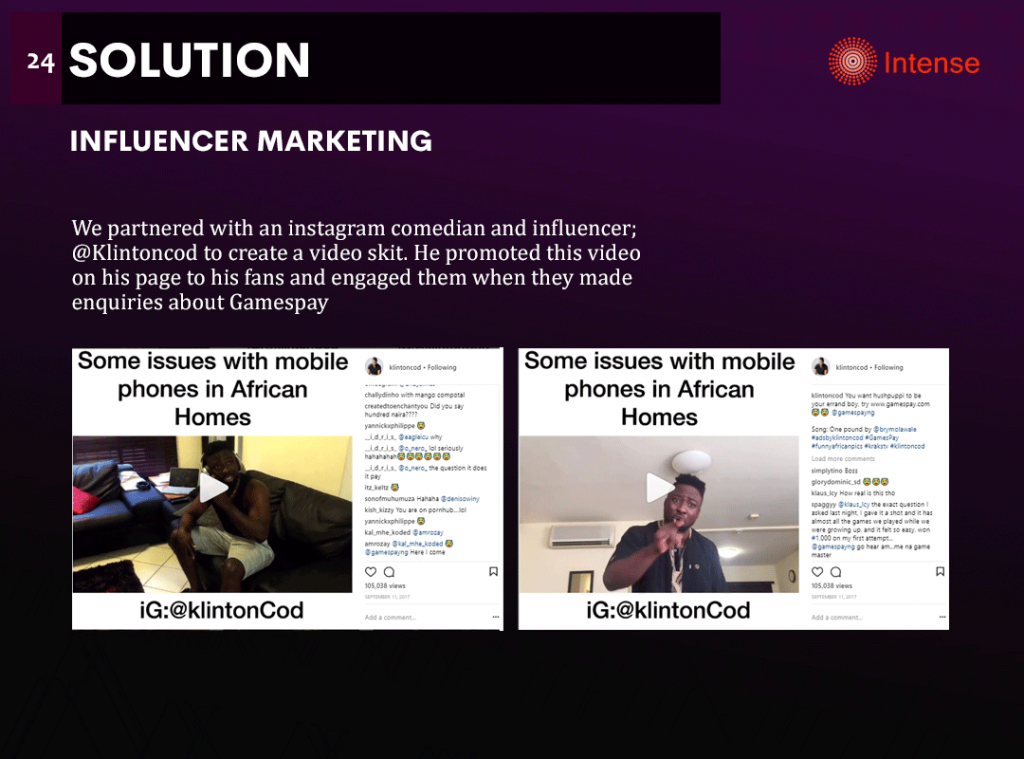 gamespay influencer marketing