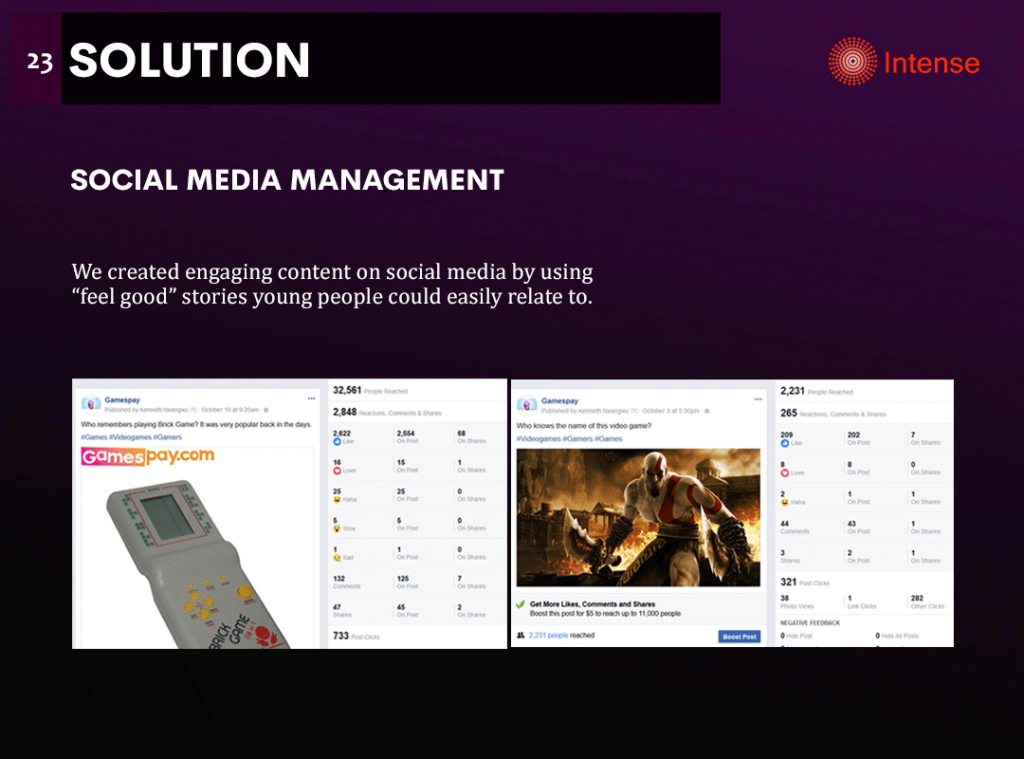 gamespay social media management
